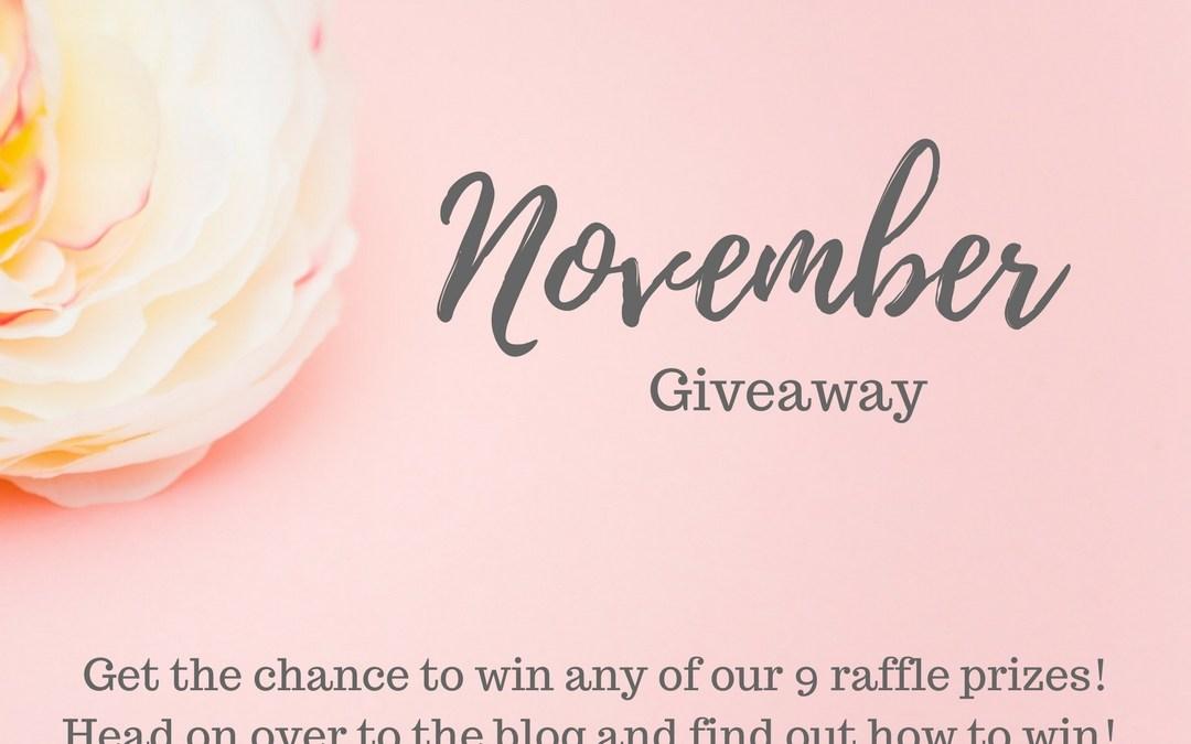 November Giveaway