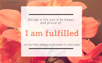 I am fulfilled Webinar
