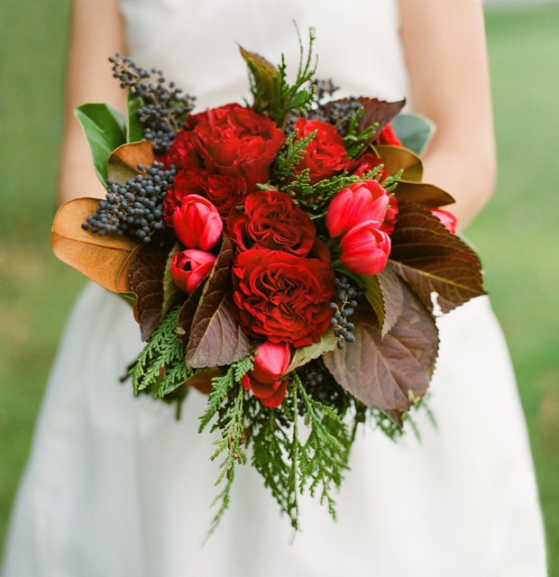 Winter Wedding Bouquets  Holly Chapple Holly Chapple