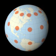 Earth-Tissot-Indicatrix_Wrapped-to-Sphere
