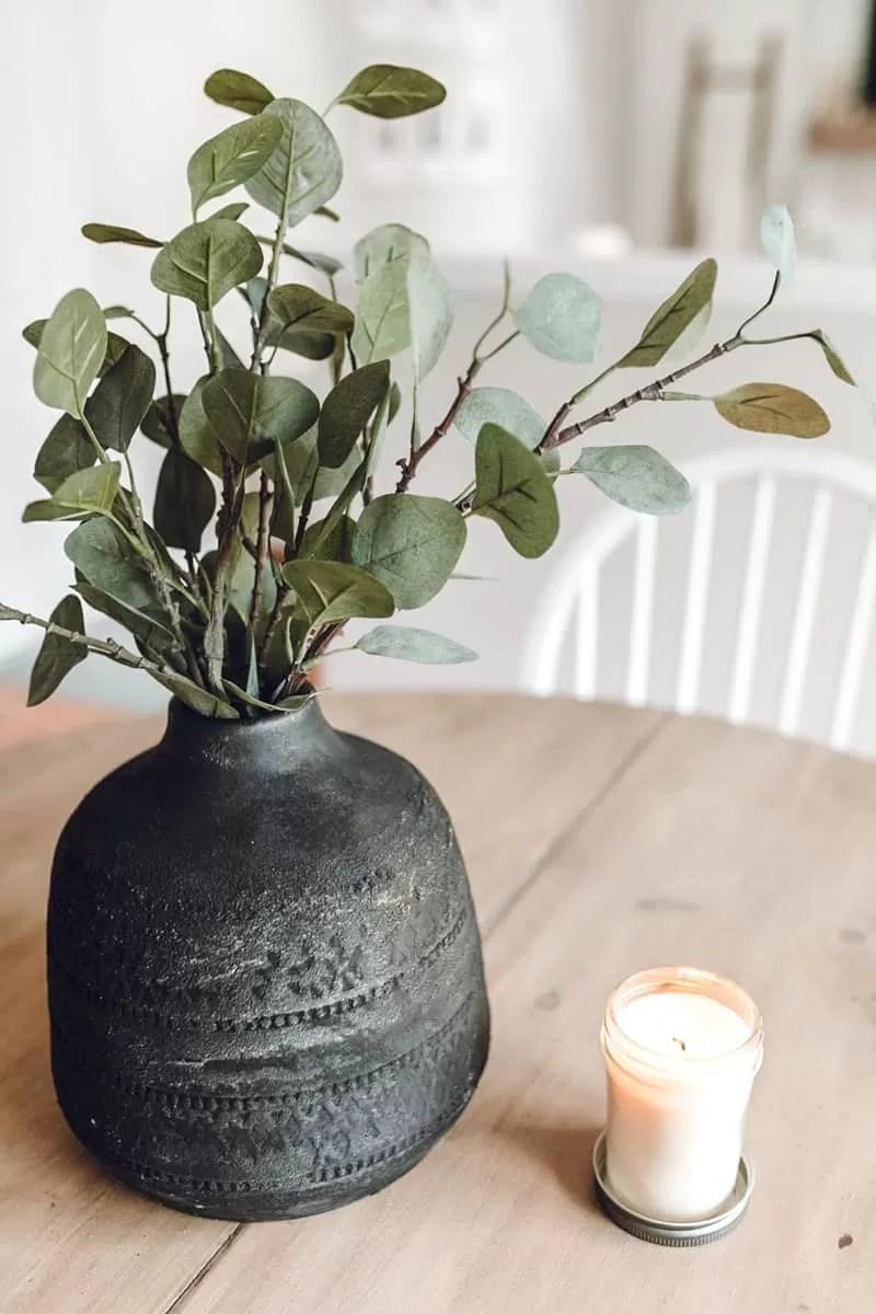 DIY Aged Vase Tutorial