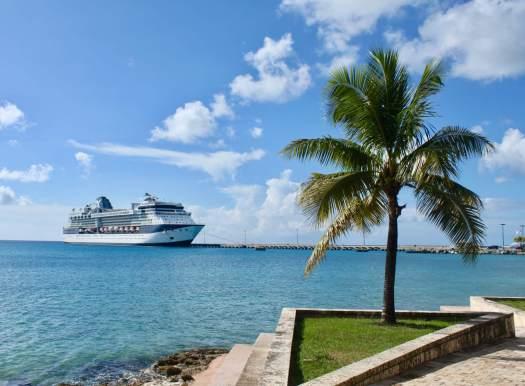 Summit cruise ship at port
