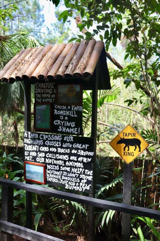 Belize Zoo Educational Sign