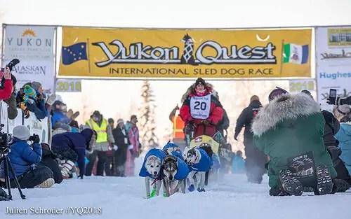 Musher embarking on Yukon Quest