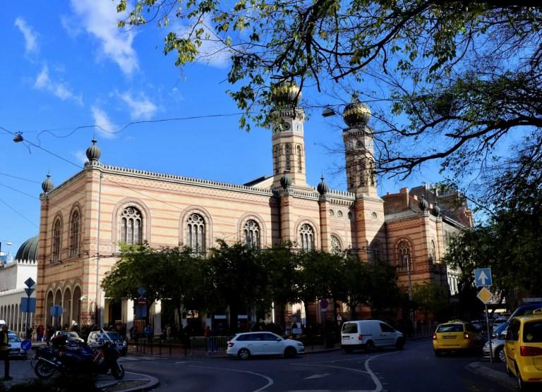 Dohány Street Synagogue street view