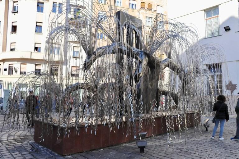 Willow tree memorial