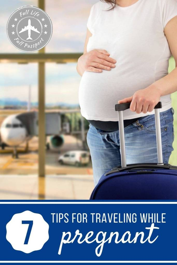 Being pregnant doesn't mean that you have to stay at home! Check out these seven helpful tips for traveling while pregnant.