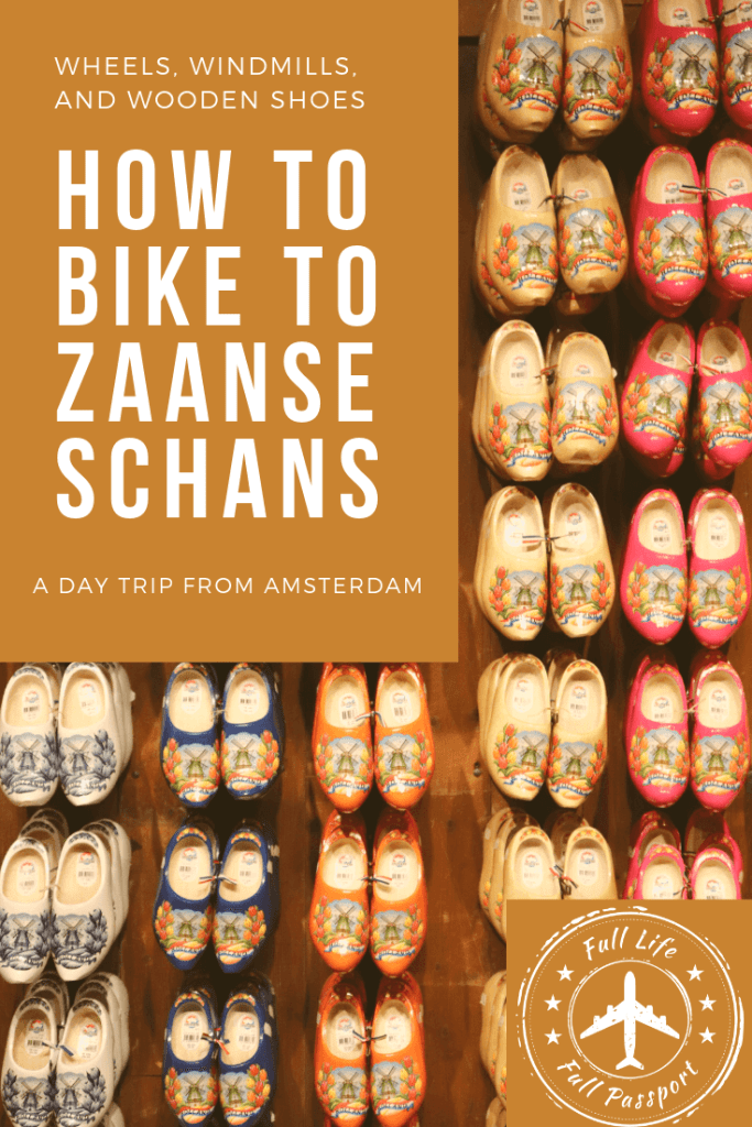 Looking for a great day trip from Amsterdam? How about a cycling route that takes you to some beautiful windmills? Zaanse Schans has it all!