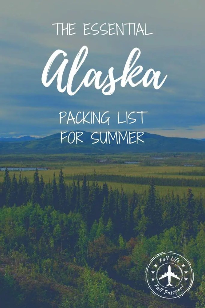This helpful packing list for Alaska in summer will answer all your questions about what to wear and pack for your cruise or land vacation!