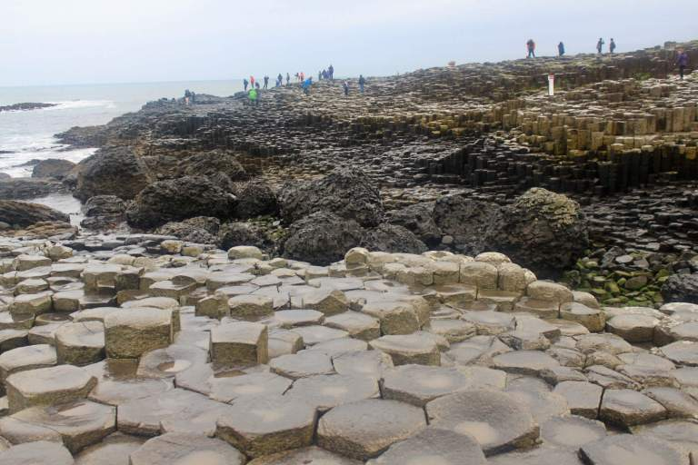 Thousands of Giant's Causeway stones