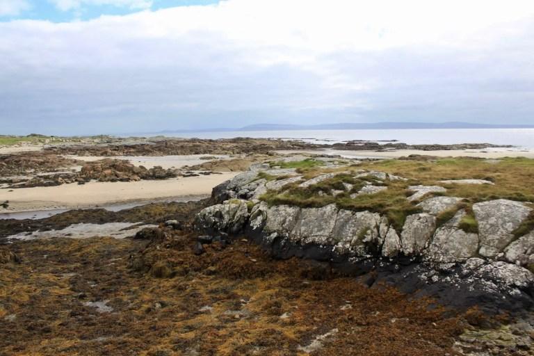 Rocky coastline of the Connemara Peninsula