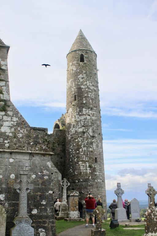 The round tower at the Rock of Cashel