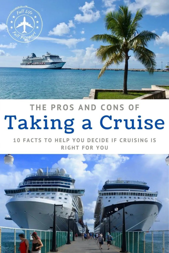 Taking a cruise is a polarizing idea. Check out this list of the pros and cons of cruising to see if setting sail is right for you.