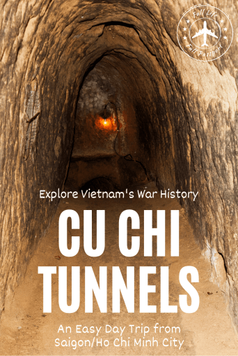 One of the most powerful day trips from Saigon is visiting the Cu Chi Tunnels, which were used by the Viet Cong during the Vietnam War. Learn more here.