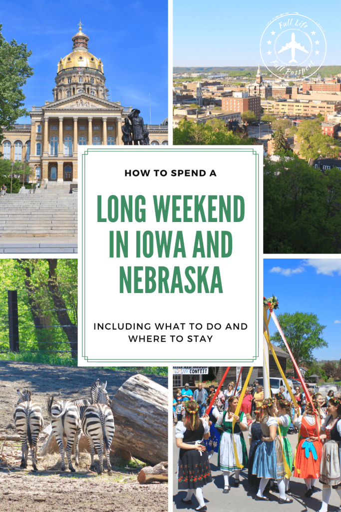 "Though often dismissed as ""flyover states,"" there are so many fun things to do in Iowa and Nebraska! Join us for a fun road trip through Nebraska and Iowa."