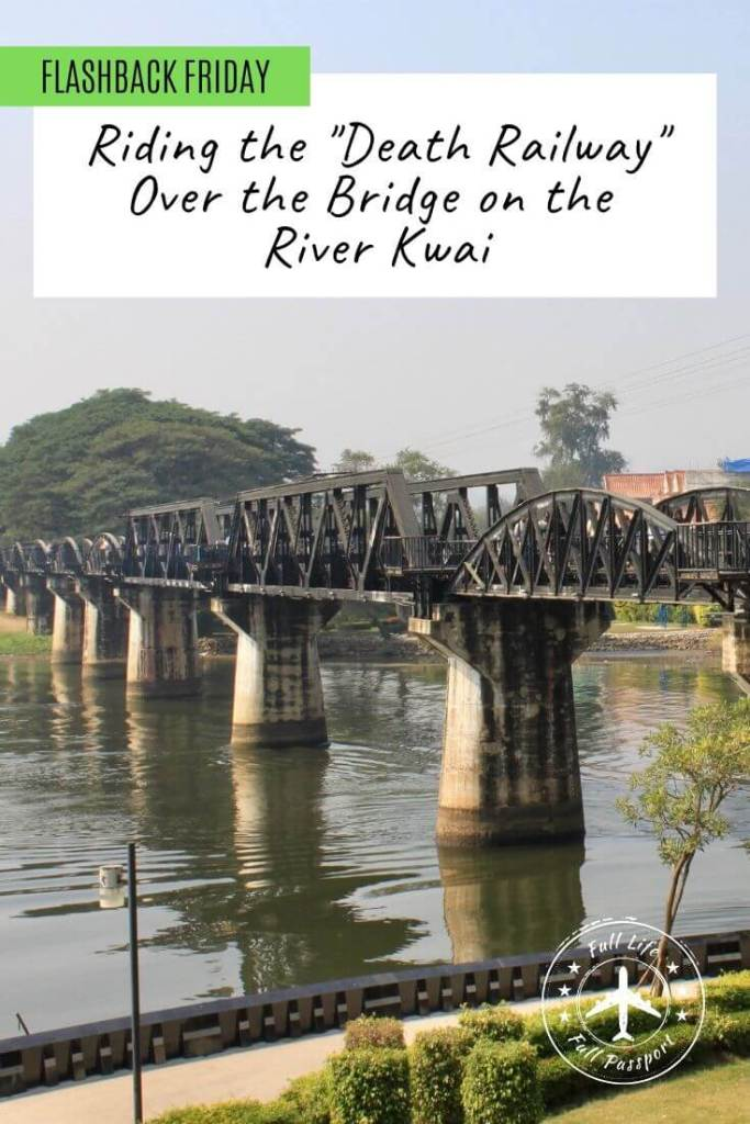 One of our most impactful day trips in Thailand was visiting the Bridge on the River Kwai in Kanchanaburi and taking a train ride through the countryside.
