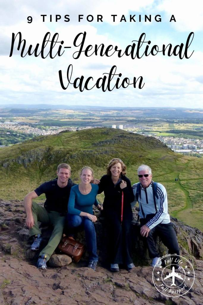Multigenerational travel can be so much fun! Whether you're taking a vacation with your parents, grandparents, or kids, check out this guide!