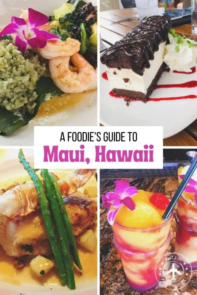 Curious what to eat on Maui? Personal chef Jeff gives us the lowdown on Maui food, including the best eats on the island!