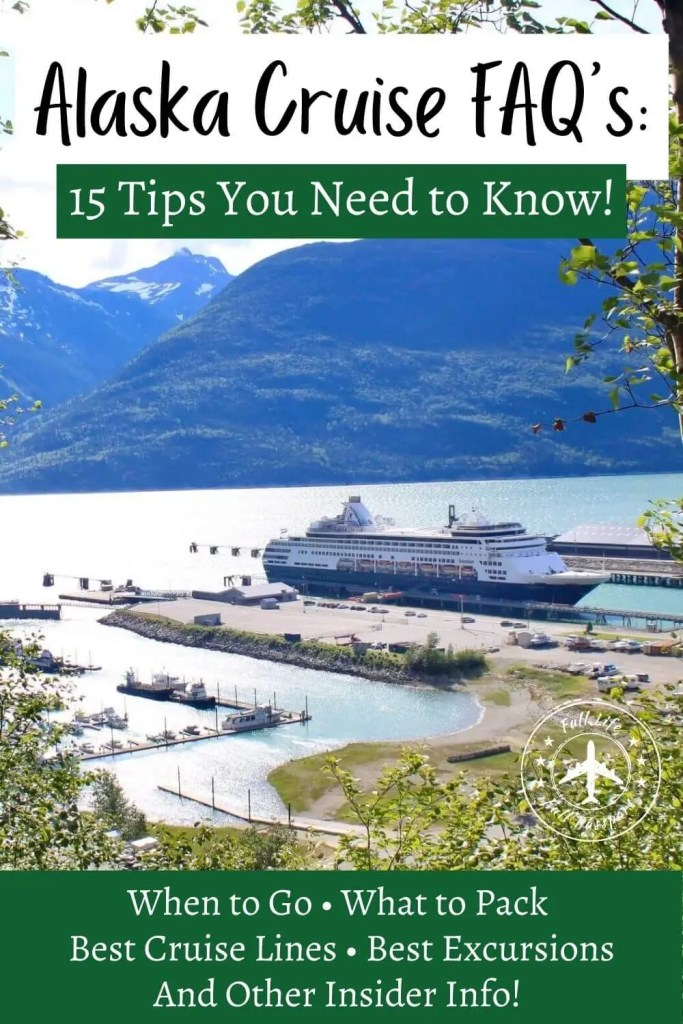 Whether you're exploring your options or booked and wondering what to expect, these Alaska cruise tips will answer all your questions!