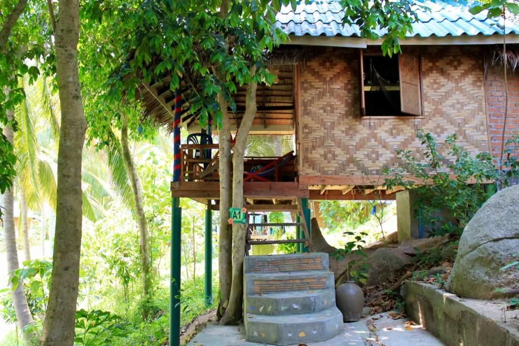 Our Thailand beach bungalow!