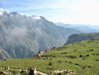 Mirador Cruz del Condor overlooking Colca Canyon