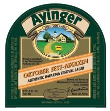 Ayinger Oktober Fest-Marzen Label