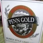 Penn Gold sign - PBW 09