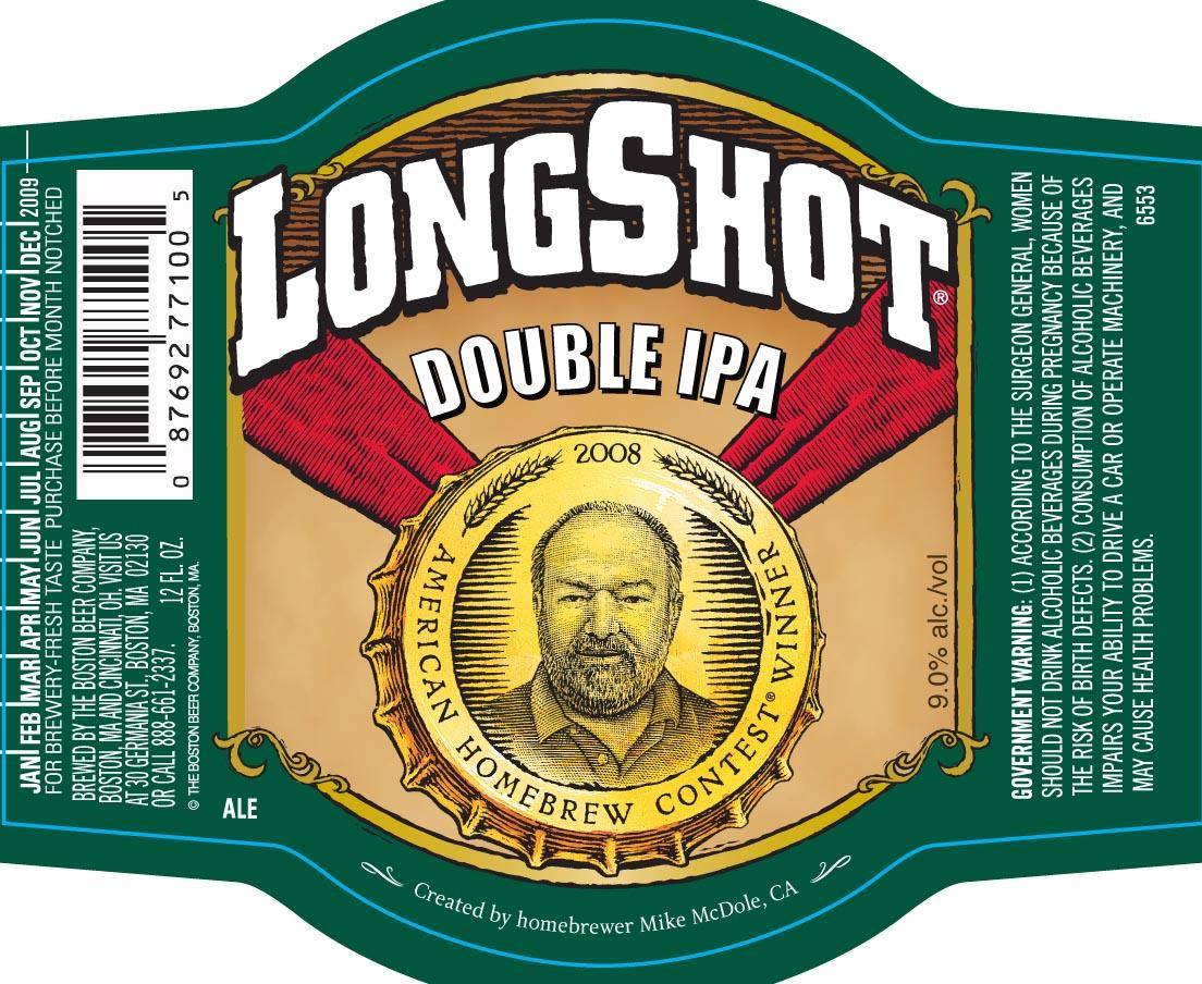 Samuel Adams Long Shot Double IPA