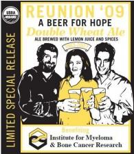 Reunion Beer Label