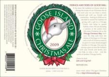 Goose Island Christmas Ale 2009