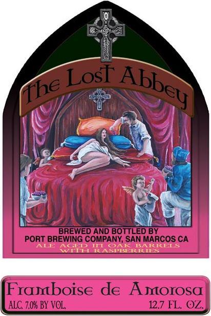 The Lost Abbey Framboise de Amorosa
