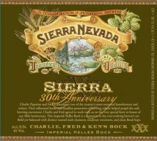 Sierra Nevada 30th Anniversary Charlie, Fred & Kens Bock
