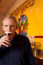 Saint Arnold Brewing - Brock Wagner (drinking)