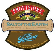 The Bruery Provisions Series: Salt of The Earth