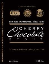 Jason Fields & Kevin Sheppard/Troegs/Stone Cherry Chocolate Stout
