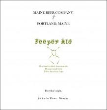 Main Beer Company Peeper Ale