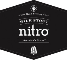 Left Hand Milk Stout Nitro Label