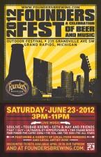 Founders Fest 2012 Flyer
