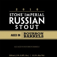 Stone Imperial Russian Stout Aged in Bourbon Barrels