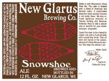 New Glarus Snow Shoe