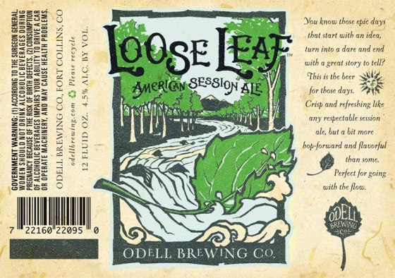 Odell Brewing - Loose Leaf American Session Ale