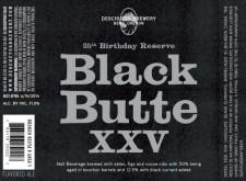 Deschutes Black Butte XXV Label