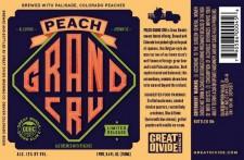 Great Divide Peach Grand Cru