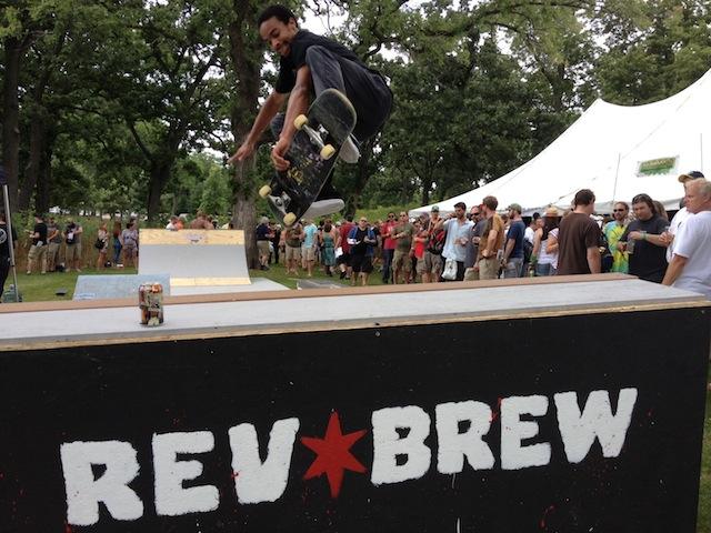 Revolution skate park