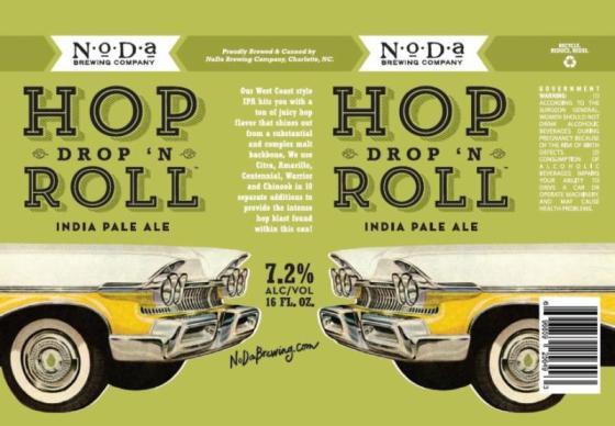 NoDa Hop Drop and Roll Can
