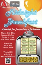 Avery Brewing & Euclid Hall Midnight Breakfast 2013