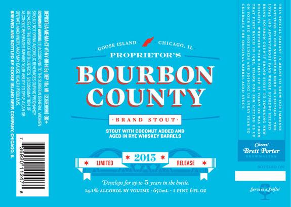 Goose Island Bourbon County Proprietors