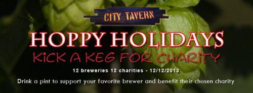 Hoppy Holidays: Kick A Keg For Charity
