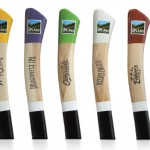 Upland Brewing - Tap Handles 2014