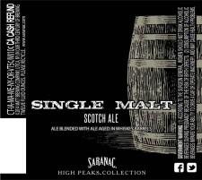 Saranac - Single Malt Scotch Ale